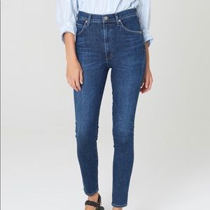 CITIZENS OF HUMANITY   Cartie Crop HighRise Jeans